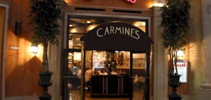 Carmines - Italian Cuisine - Atlantic City Restaurants